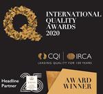 Winner International Quality Awards 2020
