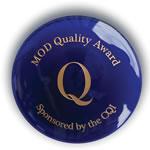 MOD Quality Award